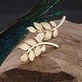 ES645 Brincos 2017 Girls Bijoux Leaves Stud Earrings For Women Jewelry Accessoreis Leaf Earings Wholesale