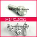 4Pcs OEM Wheel Bolt Screw WHT001693 M14X1.5X32 For AUDI Q7 VW TOUAREG WHT 001 693 Porsche