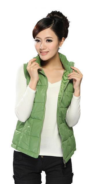 Осень Зима мода женщина жилет куртка хлопок жилет девушка Большой размер XL XXL XXXL Заводские продажи 7 конфеты цветные жилет куртка
