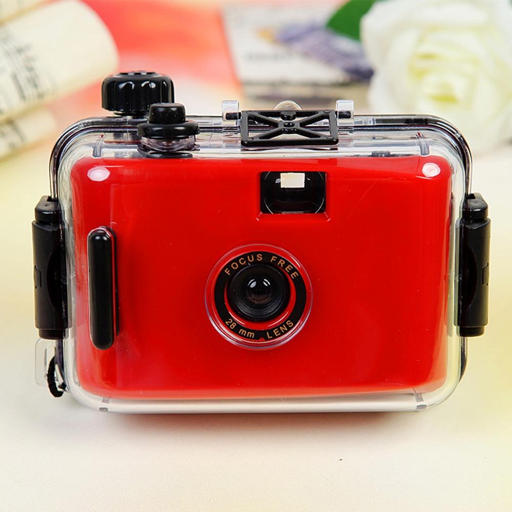 Children's Camera Camara Non-disposable Camera Film Camera LOMO Camera Waterproof and Shockproof (no Battery Required)