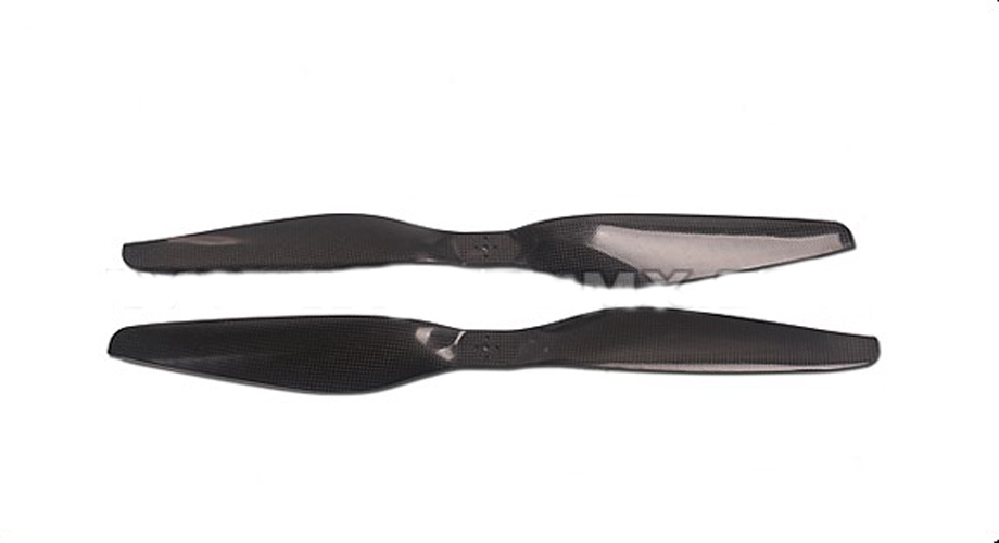 F07813 Tarot 2255 TM2255 T 2255R 22X5.5 Carbon Fiber Prop Propeller CW / CCW Blades High Quality for Multi-copter 4pcs lot propeller blades real carbon fiber propeller prop 13 1303 cw ccw for yuneec q500 typhoon parts