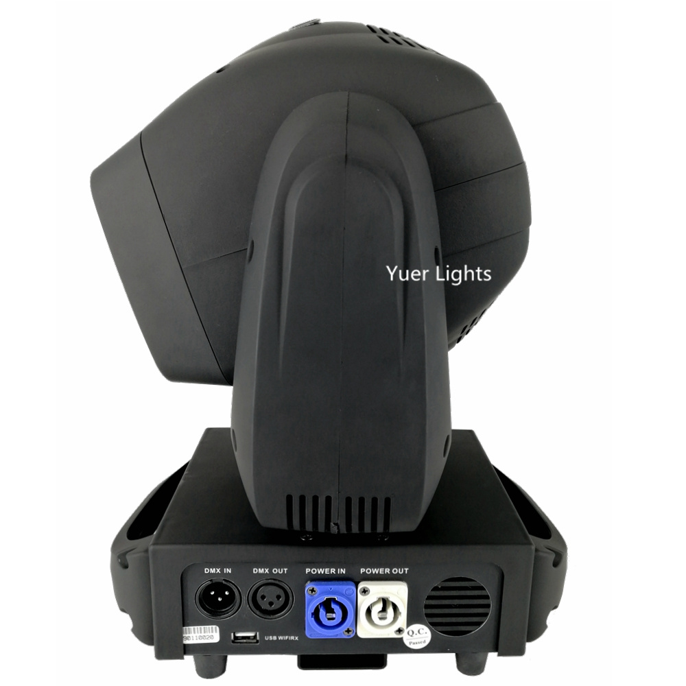 movendo a cabeça luz dj equipamentos cor