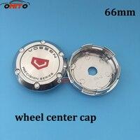 Wholesale 20pcs 66mm Wheels Car Wheel Center Caps Auto Styling Wheel Center Hub Cap Rim Caps Emblem for VOSSEN