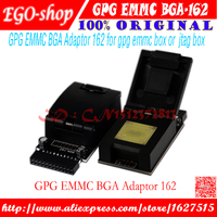 gsmjustoncct original EMMC BGA Adaptor 162 from GPG for jtag pro box and gpg emmc box or jtag box+ Free Shipping