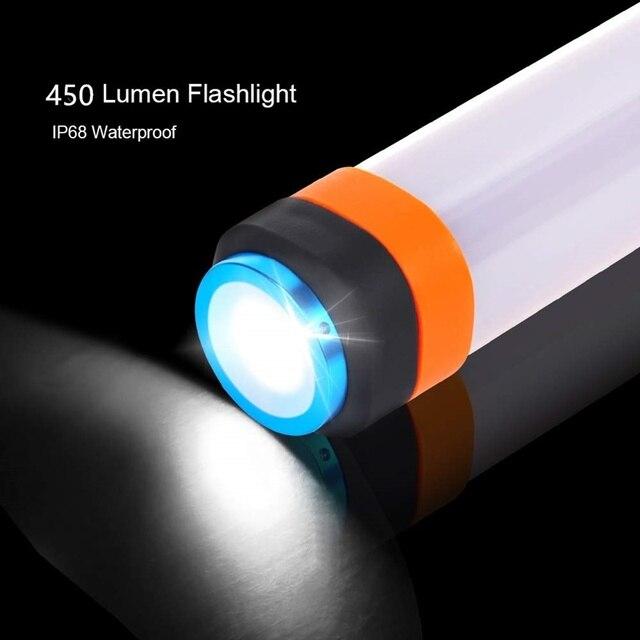 פנס מנורה חזקה במיוחד עם טעינת USB 1