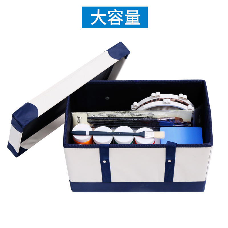 1pc ART Painting set container case paintu brush holder oil acrylic watercolor painting tool outdoor painting tool bag only 16 holes portable professional oil painting brush watercolor brush case knife paper pen case drawing set acrylic set bag only