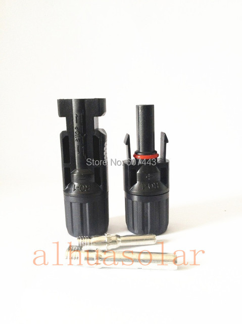 10 Pair MC4 male & female solar panel connector TUV FROM UK WAREHUOUSE NO TAX TO EUROPEAN UNION