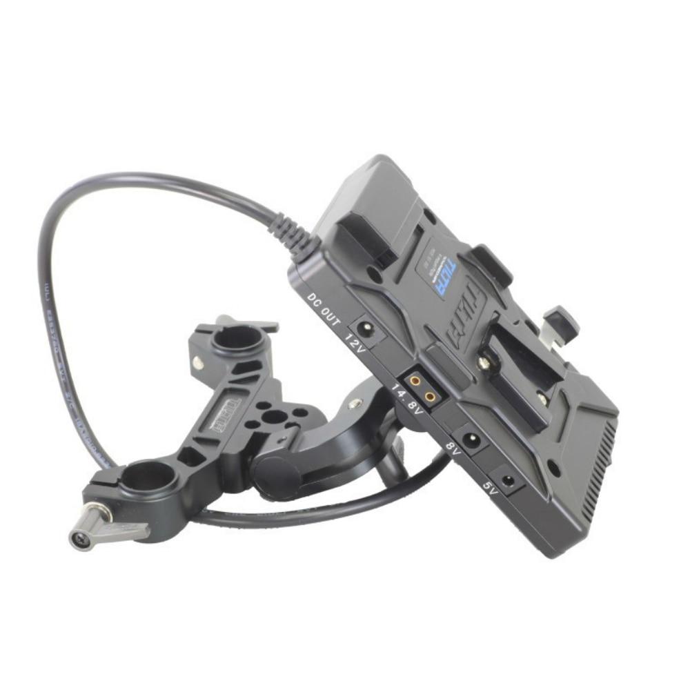 все цены на Tilta V mount V-lock / Anton mount Battery Plate Power supply System w/ 19mm rod adaptor for Red Scarlet Epic Camera онлайн