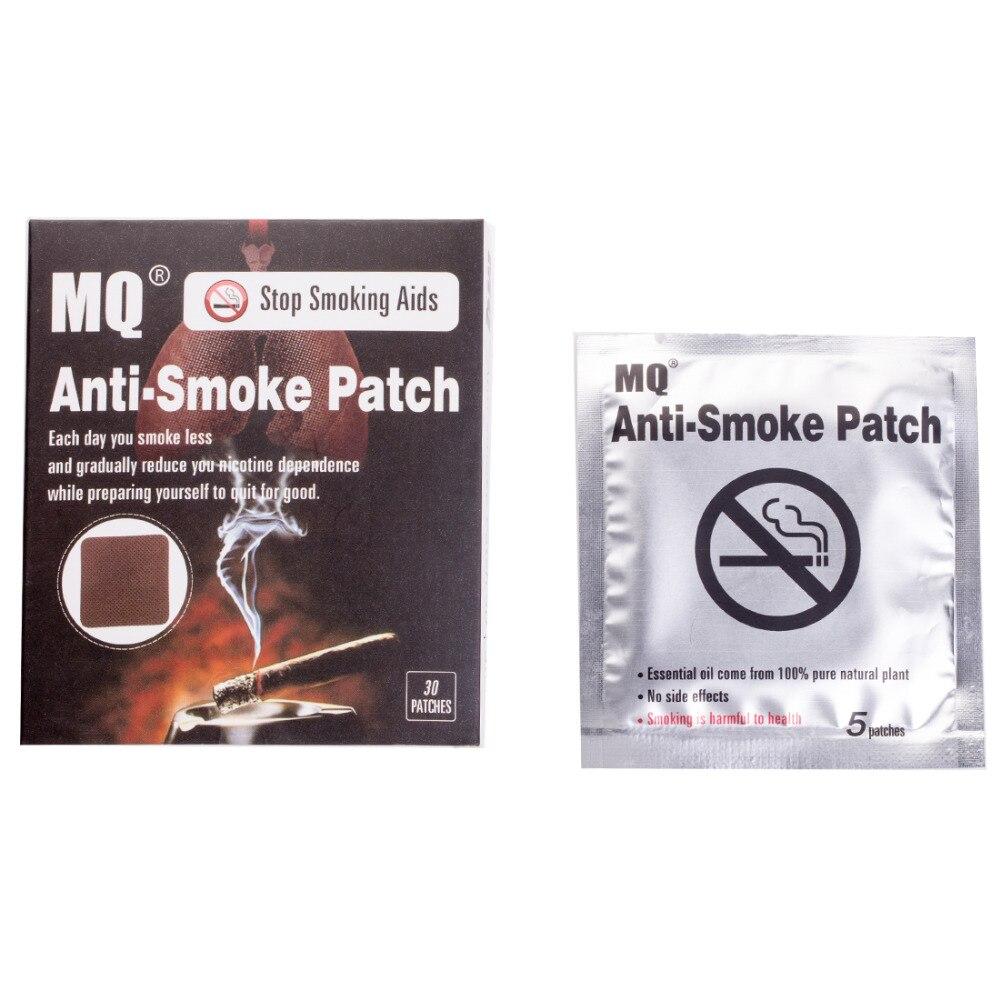 MQ Brand Anti Smoke Patch 30 Pieces/Box Smoking Cessation Pad 100% Natural Herbal Stop Smoke Patch Health Care Product 1