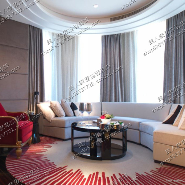 2018 новый европейский контракт и современный ковер, ковры из Спальня гостиная диван, клавиши пианино в полоску акриловые Круглые ковры