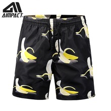 AIMPACT 2019 Quick Dry board shorts 3D Print Summer Beach Surf Swimming Trunks Casual