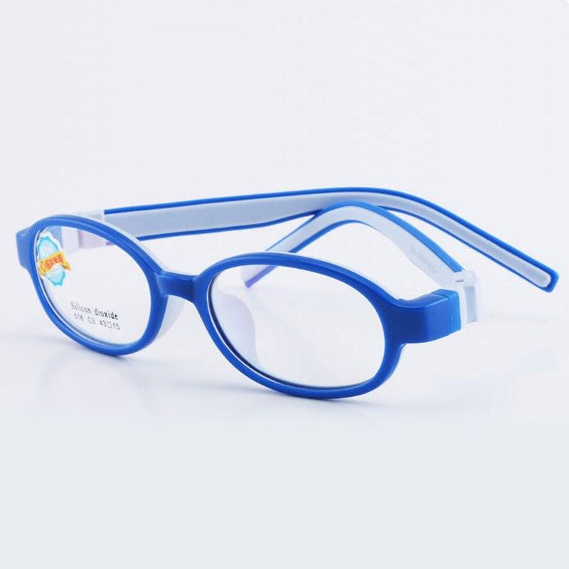 516 Bambino Occhiali Cornice Per I Ragazzi E Le Ragazze Per Bambini Occhiali Da Vista Telaio Flessibile Qualità Occhiali Per La Protezione E La Correzione Della Vista Forte Imballaggio