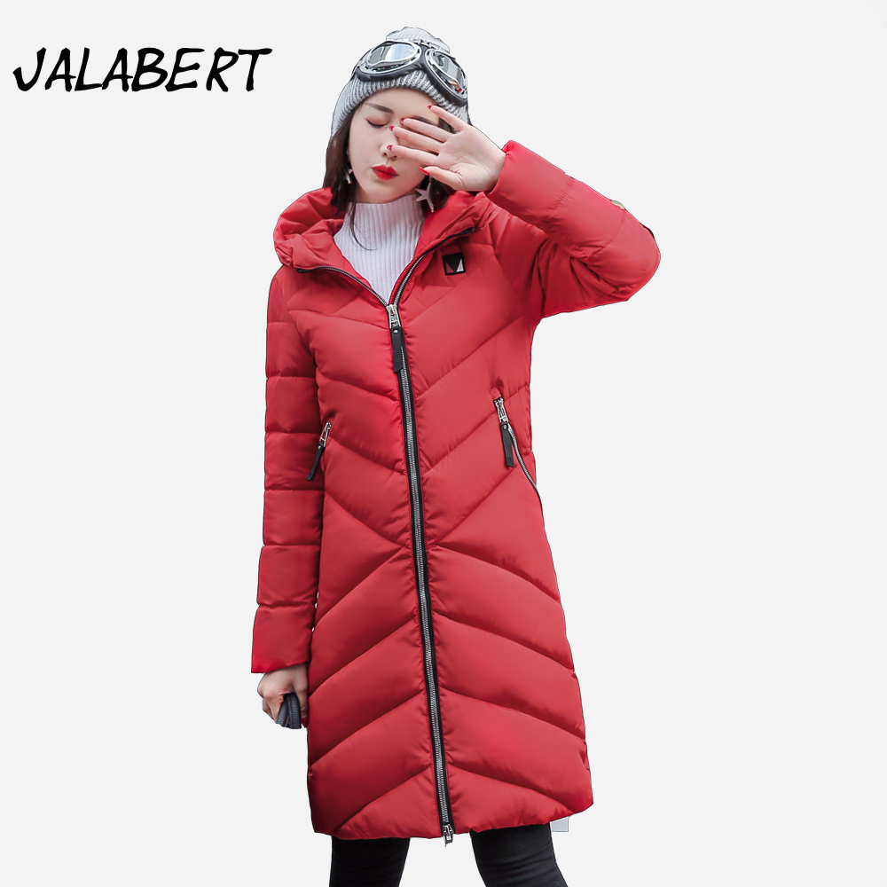 2017 winter new cotton coat women long Slim thick warm casual Hooded badge pattern fashion jacket Female fashion Parkas 2017 new winter fashion women down jacket hooded thick super warm medium long female coat long sleeve slim big yards parkas nz18