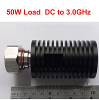 RF Load Coaxial Load 50W Power 0 3ghz N Male Connector RF COAXIAL Cable Jack 50W