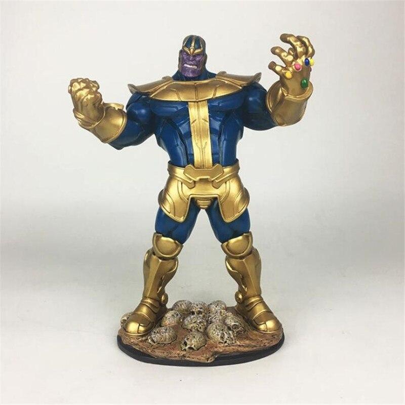 Superhéros film Avengers 3 Infinity War Thanos modèle Cosplay accessoires Figure résine à collectionner