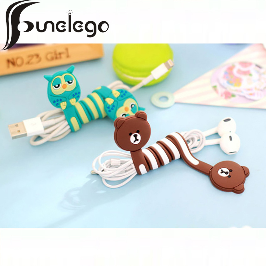 United Funelego 1pcs 5 Pcs 1 Lot Cables Winder Wire Organizer For Usb Line Manager D13 Model Cartoon Lovely Totoro Style Wire Protector To Reduce Body Weight And Prolong Life Accessories & Parts
