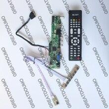 M6V5 placa controladora TV LCD suporte TV AV VGA De Áudio HDMI USB para 15.6 polegada 1920X1080 LP156WF4-SLB1 LP156WF4-SLBA LP156WFC-TLB1