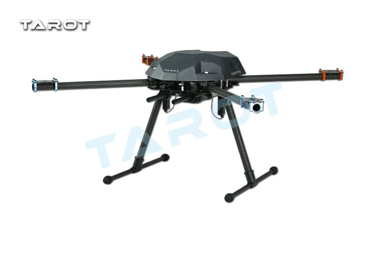 Tarot XS690 TL69A01 Sport Quadcopter with TL69A02 Metal Electric Retractable Landing Gear Skid TL8X002 Controller for FPV F17603 tarot tl69a02 metal electric retractable landing gear skid kit for tarot xs690 tl69a01 wheelbase 400 700 multicopter fpv f17602