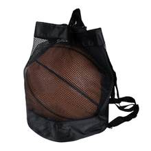 a4cfad643cb3 Outdoor Basketball Football Volleyball Drawstring Sling Ball Bag Portable  Oxford Sports Thicken Belt Riding Gym