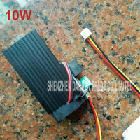 New Hot Laser DIY Laser Carving 10000mw High Power Laser Module Blu ray 450nm pulse Xh2.54 3p interface, DC=12V,I