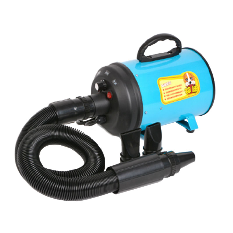 Power BlowingPet Household Water Blowing Machine Mute High Power Blowing Machine Cat Dog Drying Hair Dryer Jinmaotaidi Large Dog dryer pet dog professional hair dryer ultra quiet high power stepless regulation of the speed drying machine 2400 w