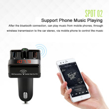 A7 Intelligent Security In Car Entertainment Bluetooth MP3 Player Digital Display Wear-Resistant Auto Vehicle MP3 Player