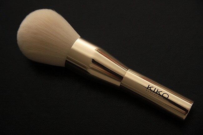 Kikos Brand Professional Makeup Brushes Rose Gold Powder & Blush brush cosmetics make up brushes kabuki kit pinceis maquiagem.(China (Mainland))