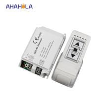 3 chave rf levou dimmer 220 v para lâmpada led luz de fuga borda de pressão remoto interruptor dimmer ac 90-240 v 1 canais distância