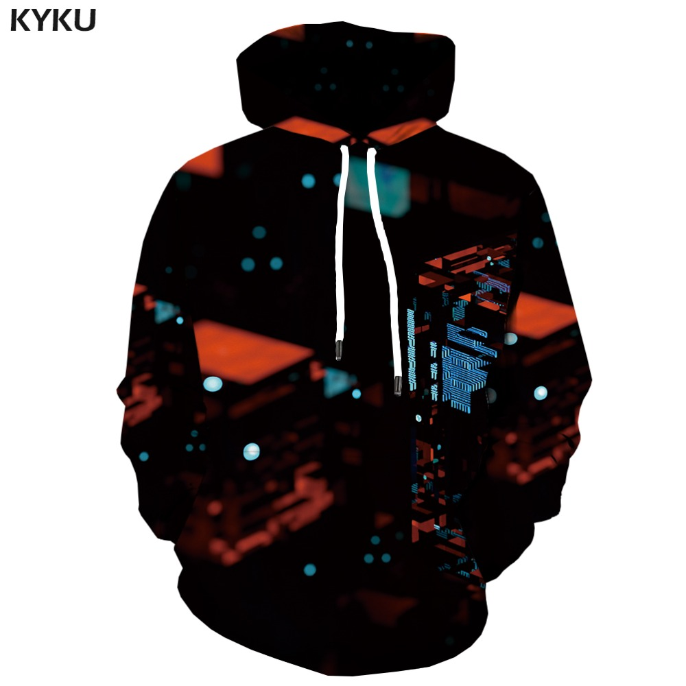 Men's Clothing Temperate Kyku Brand Rubiks Cube Sweatshirts Men Geometric Hooded Casual Space Hoody Anime Tetris Hoodes 3d Fantasy Hoodie Print Unisex