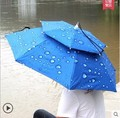 Automatic fashion business three classic plaid double 3 folding umbrella rain or shine UVA umbrella