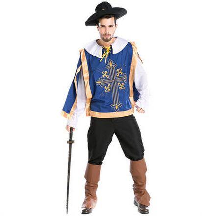 8b45742470cd6d Królewski ubrania dla mężczyzn royal nosić odzież królewski rocznika odzież  odzież royal guard protector straż cosplay halloween costume