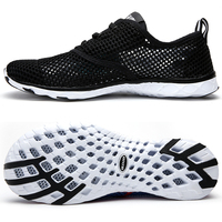 Summer Breathable Men Casual Shoes Lightweight Cushion Walking Shoes Men Outdoor Water Shoes Big Size 14