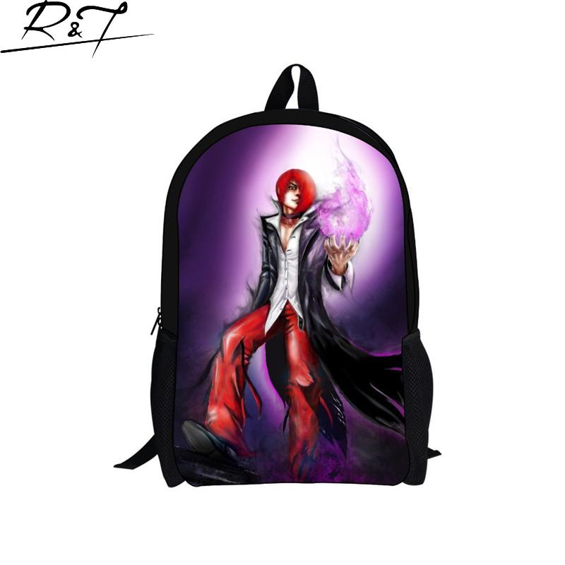 New Justin Bieber 3D Printing Girls Boys School Backpack Kids Gift Book Bag