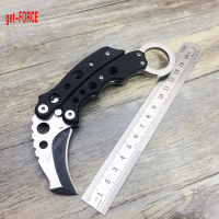 Get FORCE Newest 199C Karambit Folding Knife 5Cr15Mov Blade Tactical Pocket Knife Outdoor EDC Camping Folder