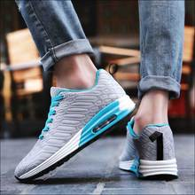 Couple Shoes Women Sneakers Casual Tenis Feminino Cushioning Man Walking Shoe Moda Mujer 2019 Brand Designer Shoes Gray Blue