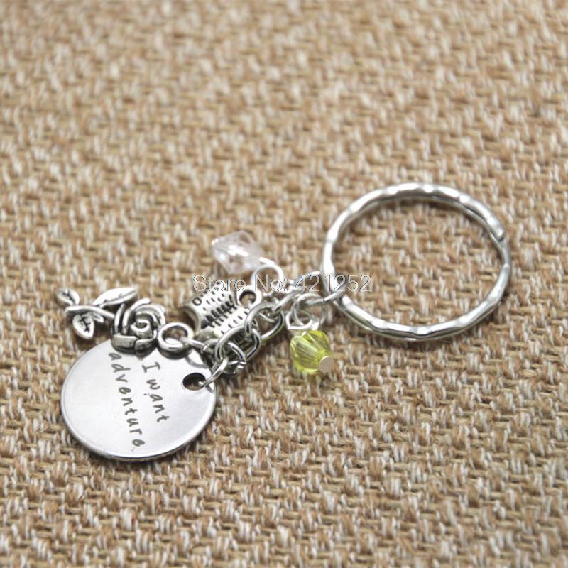 12pcslot Beauty And The Beast Inspired Keyring Belle I Want