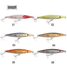 kingdom Fishing Lures Hard Stick Baits Floating Topwater Pencil Asturie 90mm 12g/110mm 16.5g/130mm 28g/150mm 35g Wobblers 7503