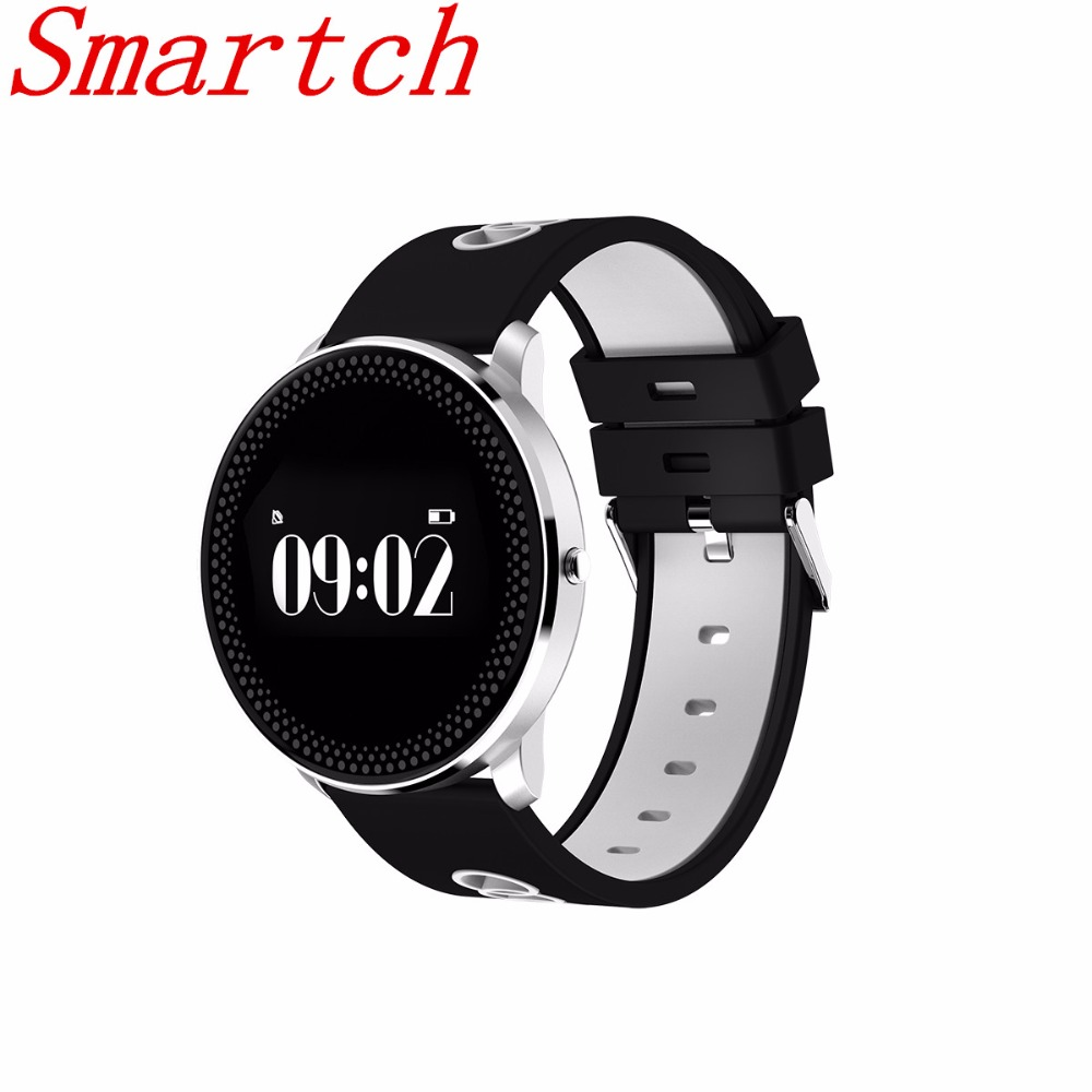Smartch CF007 Waterproof Smart Fitness Bracelet Tracker Heart Rate Blood Pressure Monitor Passometer Watch Bluetooth Smart Band