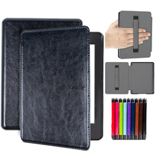 cover case for 2018 Kindle Paperwhite 4 10th Generation case waterproof e-reader cover with hand holder folio cover case