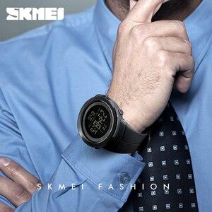 Image 3 - 2018 SKMEI Mens Sports Watches Fashion LED Digital Watch Men Waterproof Military Wrist Watches For Men Clock Relogio Masculino