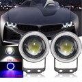 1 Пара 3.5 Дюймов 85 мм Автомобиля СИД УДАРА Angel Eyes Halo Кольцо Объектив проектора Противотуманные Фары Дальнего Света Водонепроницаемый ВНЕДОРОЖНИК ATV Off Road