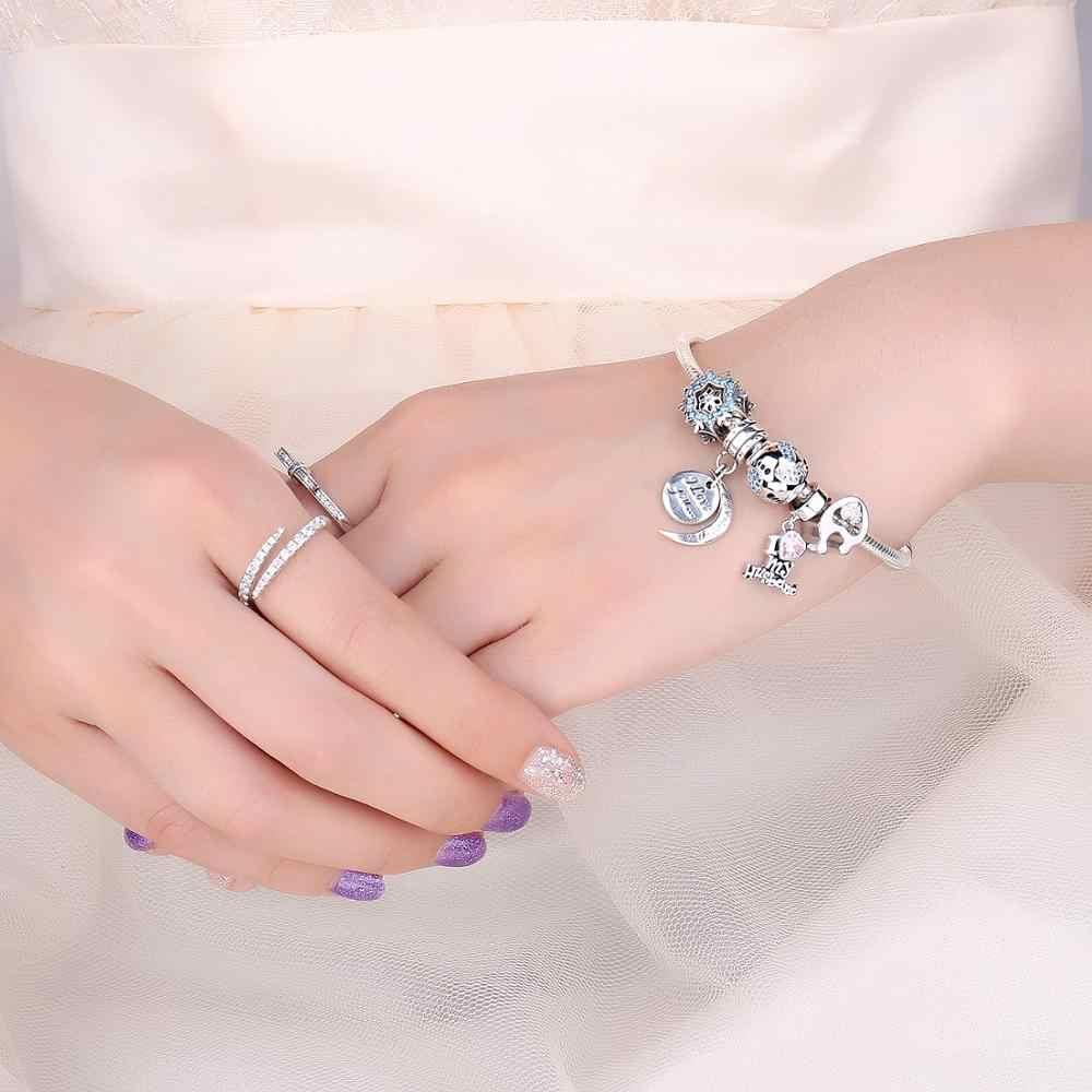 JewelryPalace 925 เงินสเตอร์ลิง I Love My Husband ลูกปัดเงิน 925 Original Fit สร้อยข้อมือเงิน 925 เครื่องประดับ