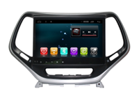 Chogath car multimedia player android 8 for Jeep Cherokee Silver car radio player