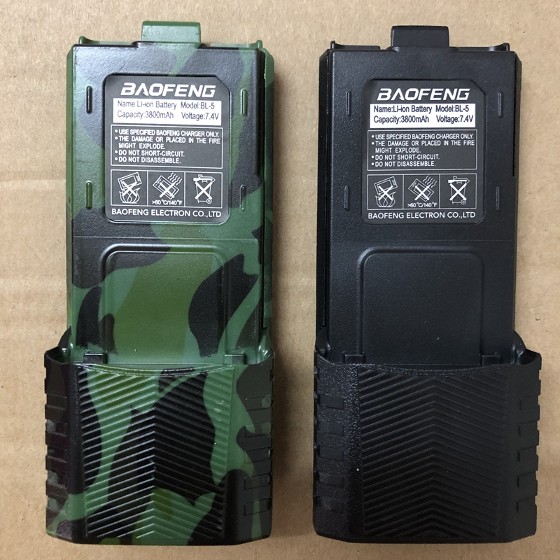 Baofeng UV 5R walkie talkie battery 1800mAh /2800mAh  for BF F8 uv 5r uv5r uv 5re uv 5ra Baofeng Accessory BL 5 battery-in Walkie Talkie from Cellphones & Telecommunications