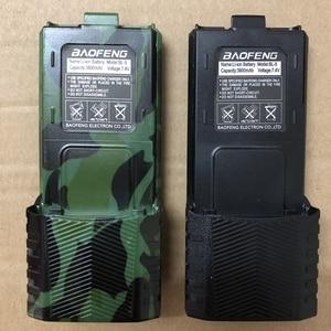 Image 1 - Baofeng UV 5R walkie talkie battery 1800mAh /2800mAh  for BF F8 uv 5r uv5r uv 5re uv 5ra Baofeng Accessory BL 5 battery