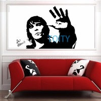 IAN BROWN Wall Decal STONE ROSES Vinyl Sticker Music Poster Room Decor Art Mural H57cm x W75cm