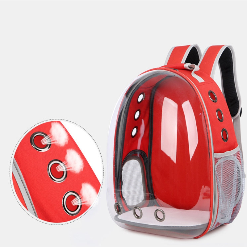 Breathable Pet Backpacks Carriers Bag Portable Space Shoulder Bag For Small Cats And Dogs Fashion Dog