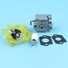 Carburetor Ryobi Walbro Trimmer FUEL-LINE-FILTER-KIT for MTD Troy-Bilt Tb10cs/Tb20cs/Tb65ss