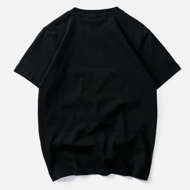 Charater Print Black Hip Hop Mens T Shirt Short Sleeve O-neck Tshirts Men Casual Tees 2019 Summer Male Streetwear Tee Tops