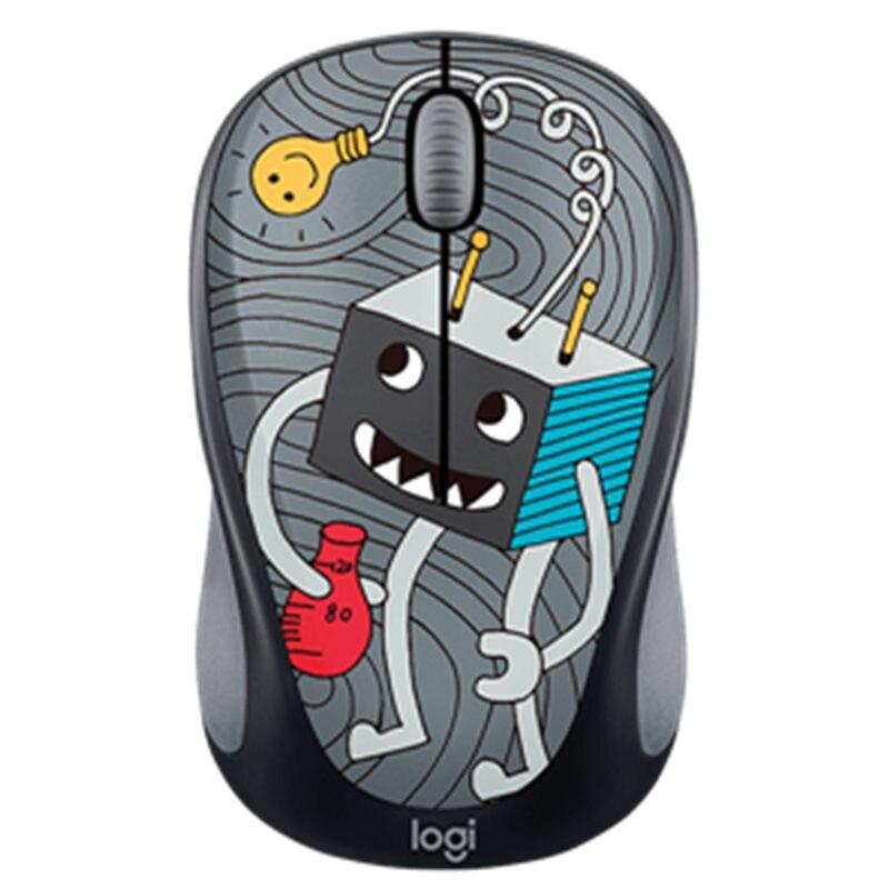 Nouveau Logitech M238-v3 souris sans fil bureau filles portable dessin animé ordinateur portable USB multi-couleur M238 dessin animé version